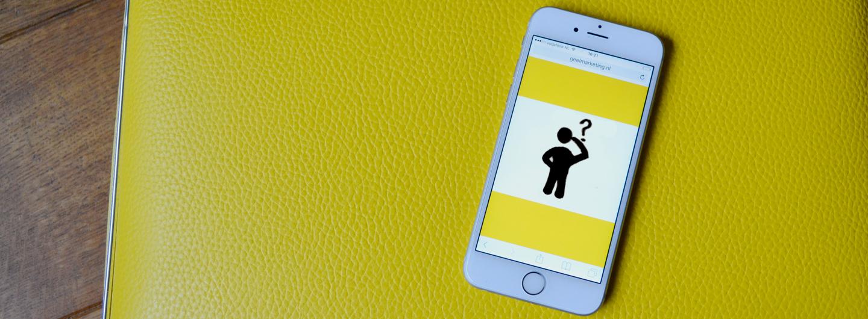 Zo maak je jouw digitale communicatie smartphone proof
