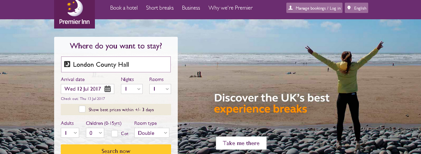 Succesvolle direct booking strategie van PremierInn